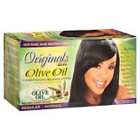 Organics by Africa's Best Olive Oil Conditioning No-Lye Relaxer System, Regular