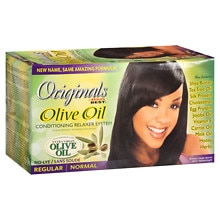 Organics by Africa's Best Organics Olive Oil Conditioning No-Lye Relaxer System