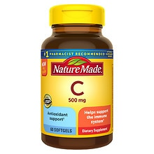 Nature Made Vitamin C, 500mg, Softgels
