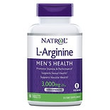 Natrol L-Arginine 3000 mg Dietary Supplement Tablets