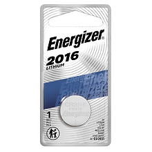 Energizer Watch Electronic Watch/Electronic Lithium Battery # 2016, 3.0v