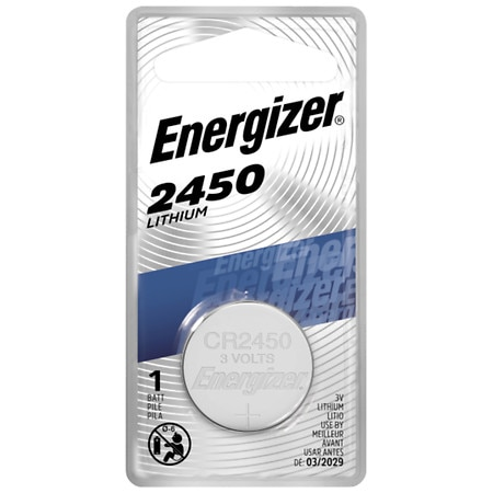 Energizer Watch Electronic Watch/Electronic Lithium Battery 2450, 3V