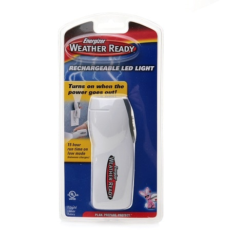 Energizer Lighting Products Weather Ready Rechargeable LED Light