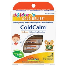Children's Coldcalm, Pellets