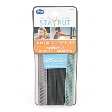 StayPut Head Bands, Assorted Colors