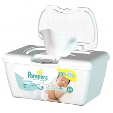 Pampers Stages Baby Wipes