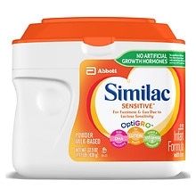 Similac Sensitive Infant Formula with Iron, Powder