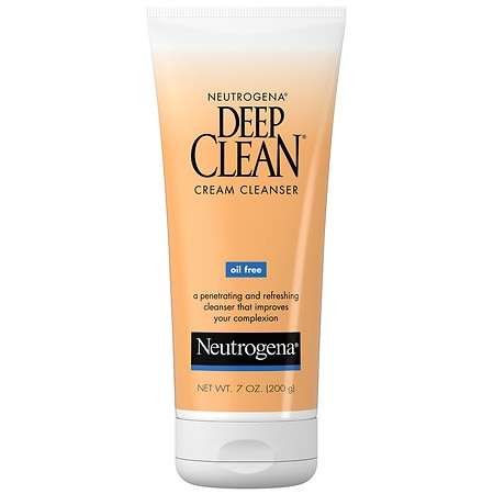 Neutrogena Deep Clean Cream Cleanser, Oil Free