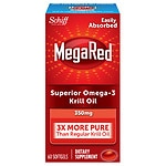 Save 25% on Schiff MegaRed supplements