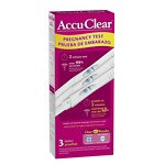Save 15% on Accuclear pregnancy tests.