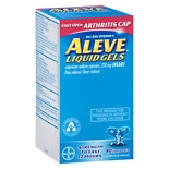 Aleve Pain Reliever/Fever Reducer 220 mg Liquid Gels