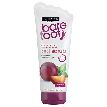 Freeman Bare Foot Creamy Pumice Foot Scrub Invigorating Peppermint & Plum