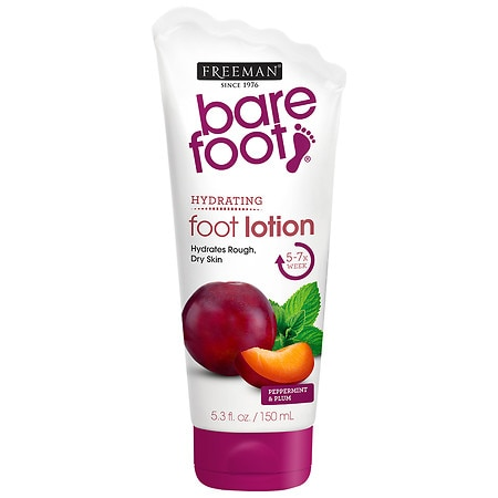 Freeman Bare Foot Softening Foot Lotion Invigorating Peppermint & Plum