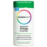 Just Once Everyone's Omega Fish & Flax Oil Dietary Supplement Softgels