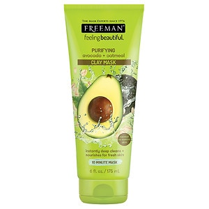 Freeman Facial Clay Mask, Avocado & Oatmeal, Purifying