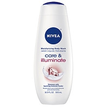 Nivea Touch of Sparkle Cream Oil Body Wash