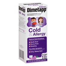Children's Dimetapp Cold & Allergy Grape