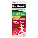 Robitussin Children's Cough & Cold Fruit Punch Fruit Punch Flavor Liquid