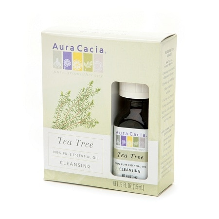 Aura Cacia 100% Pure Essential Aromatherapy Oil Cleansing Tea Tree