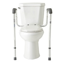 Medline Foldable Toilet Safety Rails