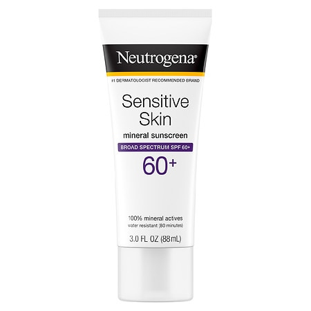Neutrogena Sunscreen Lotion, Sensitive Skin, SPF 60