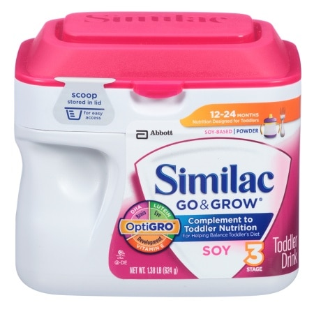 Similac Go & Grow Soy Toddler Drink, Powder