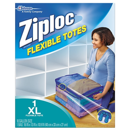 Ziploc Flexible Totes