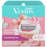 Gillette Venus Spa Breeze 2-in-1 Shaving Cartridges with Shave Gel Bars