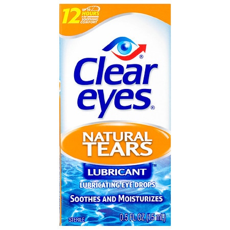 Clear eyes Mild Dry Eyes Natural Tears
