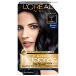 L'Oreal Paris Preference Permanent Hair Color Ultimate Black 1