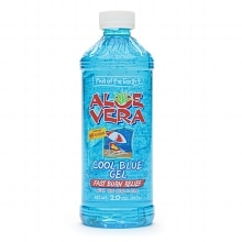 Fruit Of The Earth Aloe Vera Gel Cool Blue