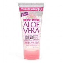 Fruit Of The Earth Aloe Vera 100% Gel Rose Petal