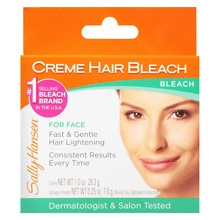 Sally Hansen Creme Hair Bleach Kit for Face