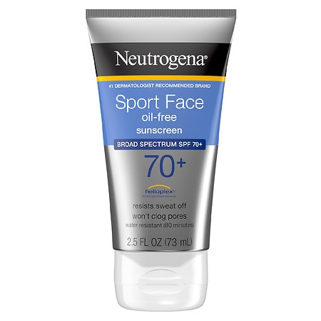Ultimate Sport Face Sunscreen Lotion, SPF 70 by Neutrogena