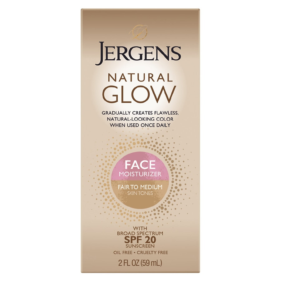 Jergens Natural Glow Face Daily Facial Moisturizer Spf