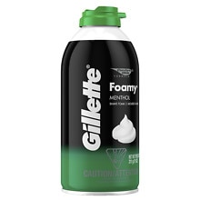 Gillette Foamy Shaving Cream Menthol