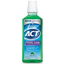 Total Care Anticavity Fluoride Rinse, Fresh Mint