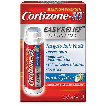 Cortizone 10 Maximum Strength Easy Relief Applicator Anti-Itch Liquid
