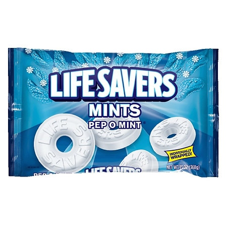LifeSavers Mints. Pep O Mint