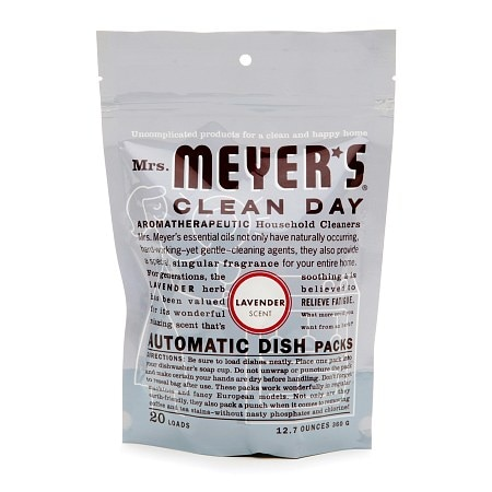 Mrs. Meyer's Clean Day Automatic Dishwashing Packs Lavender,20 Loads