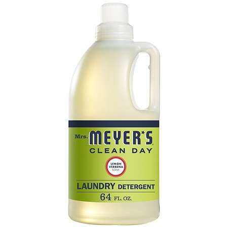 Mrs. Meyer's Clean Day Laundry Detergent Liquid Lemon Verbena