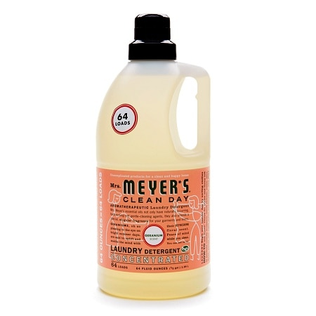 Mrs. Meyer's Clean Day Laundry Detergent Liquid Geranium