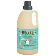 Mrs. Meyer's Clean Day Laundry Detergent Liquid Basil