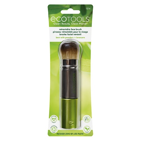Recycled Retractable Kabuki Brush by EcoTools