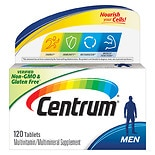 Centrum and Caltrate Multivitamins and Calcium Supplements