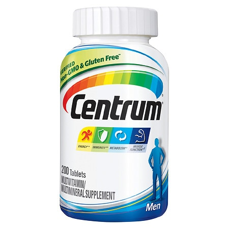 Centrum Men, Multivitamin/Multimineral, Tablets