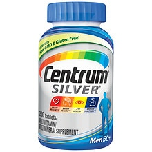 Centrum Silver Men 50+ Multivitamin, Tablets