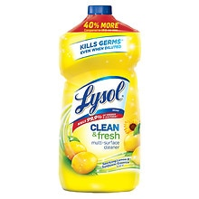 Lysol Complete Clean Multi-Surface Cleaner Lemon Breeze