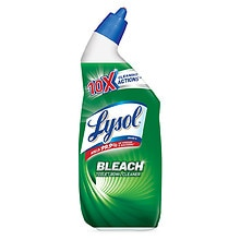 Lysol Toilet Bowl Cleaner - with Bleach