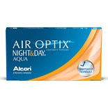 wag-Air Optix Night & Day Aqua Contact Lens